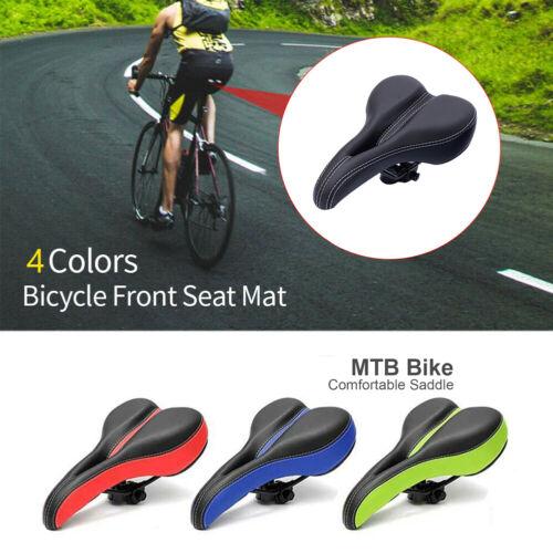 Comfort Bike Seat Cushion Soft Padded Mountain Cruiser Road Bicycle Saddle US AN