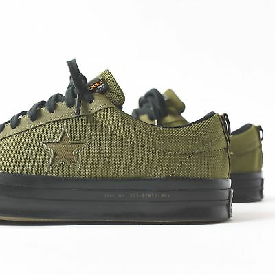 Converse x Carhartt One Star Ox Low Top HerbalOlive CorDura Size 9.5 162820c | eBay