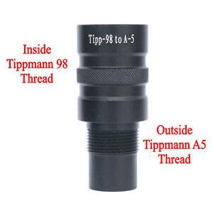 New-Paintball-Barrel-Adapter-Tippmann-98-to-Tippmann-A5-Tippmann-X7-BT-4