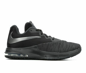 Nike-Men-039-s-Air-Max-Infuriate-III-Low-Basketball-Shoes-Black-Size-9-5