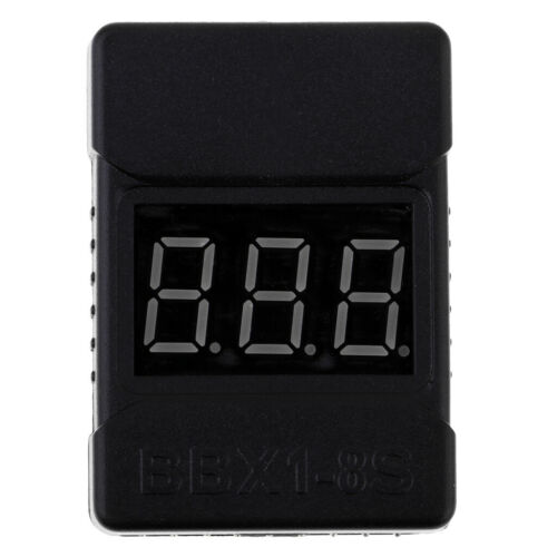 RC 1-8s Lipo Battery Checker with Low Voltage Buzzer Alarm and LED Indicator