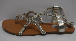 34a96b8da1e Steve Madden Size 6.5 Gold Sandals New Womens Shoes | eBay