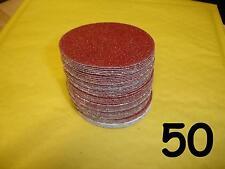 "50 - 3"" - 75mm Velcro Sanding Discs 60 80 120 240 400 Mixed Grit DA Sander Pads"