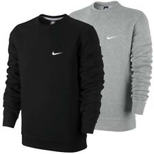 Nike Club Swoosh Fleece Crew-Neck Sweatshirt Crewneck Pullover Pulli