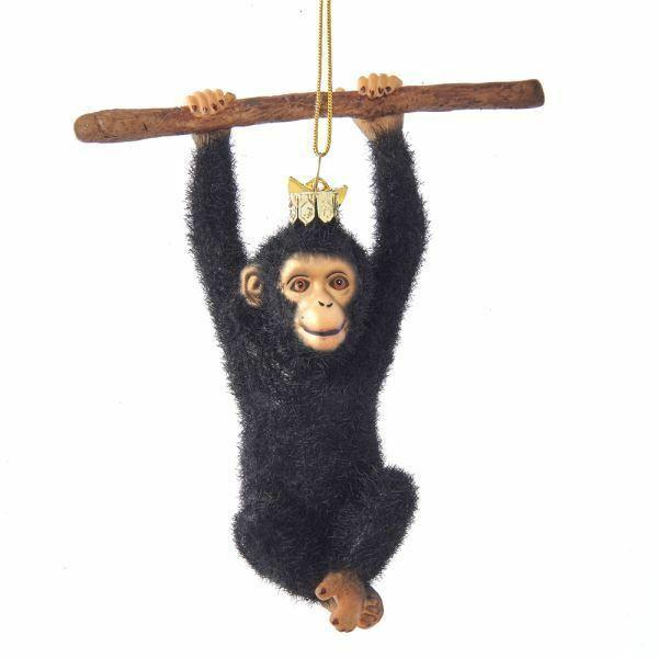 Monkey Christmas Ornament | eBay