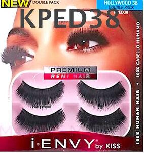 4eceb261ad3 I ENVY BY KISS EYELASHES HOLLYWOOD 38 KPED38 DOUBLE PACK EYELASHES ...