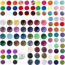 EuBeCos UV Gel Farbgele Glimmer Sparkling COLORGEL  GLITTERGEL SET 40 x 5 ml