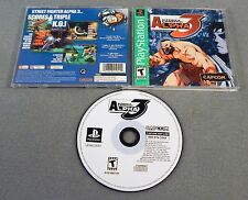 STREET FIGHTER ALPHA 3 COMPLETE 1999 PS1 Playstation PSOne TESTED WORKS