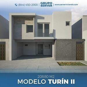 Casa en Venta en Residencial Las Misiones V Sector, Saltillo, Coahuila; Modelo Turín II