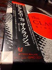 "THE CLASH~Japan 7"" Box Set/Books/Inserts/Obi~UNPLAYED punk joe strummer 101'ers"