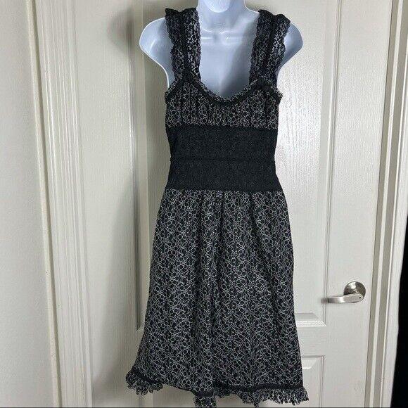 Betsey Johnson lace overlay Corset Dress Vintage - image 4