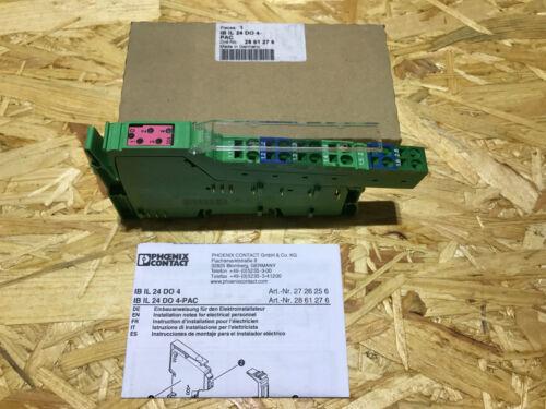 Phoenix contact IB il 24 do 4-pac Ord 189 nº 28 61 27 6 mod ID