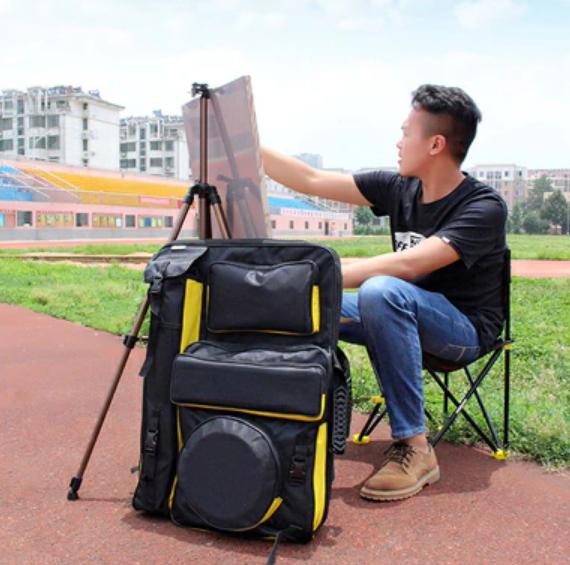 Waterproof Art Student Artist Backpack Multi-Functional Tools Supplies Carrier