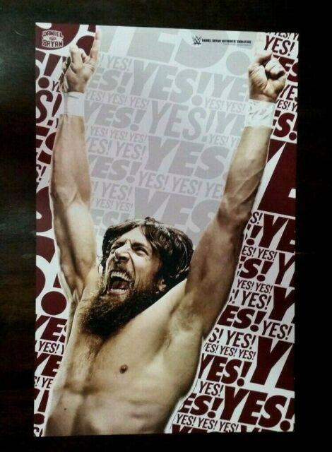 Daniel Bryan - 11x17 Wrestling Poster - RARE WWE | eBay