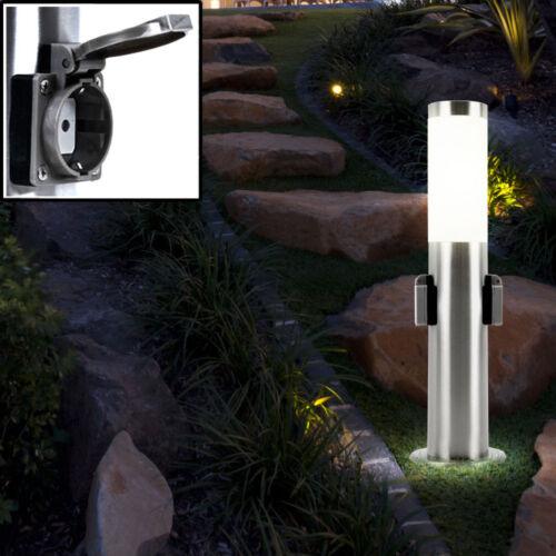 LED de pie exterior lámpara de jardín terraza ip44 Steck lata de electricidad de distribución patio camino