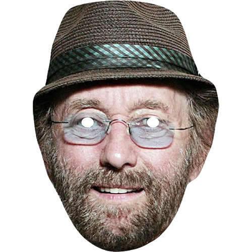 Dave Peacock-Chas /& Dave Carte celebrity chanteur Masque-Tous les masques Pre-Cut