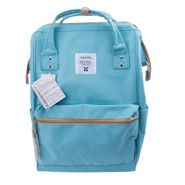 89e54598a9 Anello Polyester Canvas Backpack Rucksack Regular Size At B0193a ...