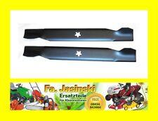 """2 Rasenmäher Messer passend für Einhell Royal 107cm 5 Stern 42"""""""