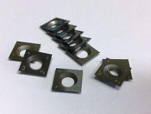 Reversible-Couteaux-Titman-L142-Solide-Carbure-Embouts-de-Rechange