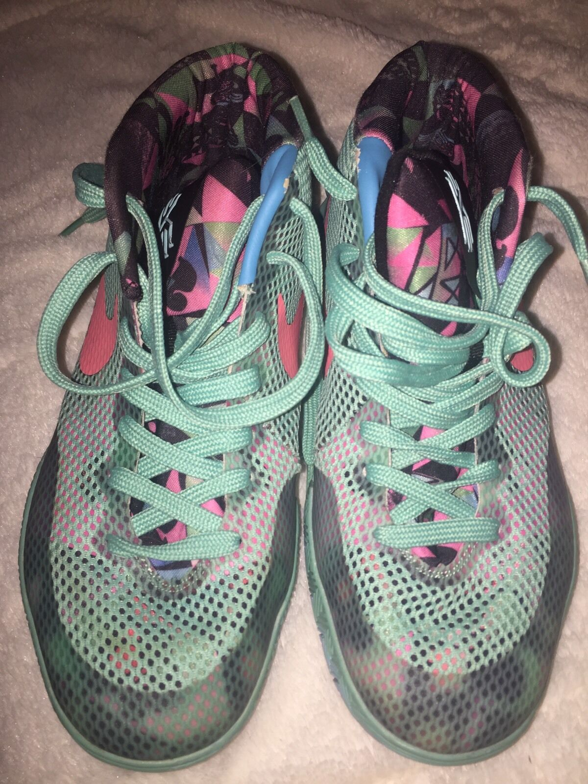 online store 74e67 84183 Nike Pre-owed Kyrie 1 South Beach Men s Sz 7 7 7 e838fa