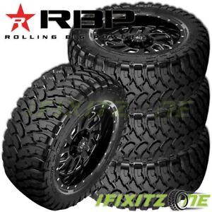 4 NEW RBP Repulsor M/T 35X13.50R20LT 124Q 10-PLY Off-Road JEEP/Truck Mud Tires