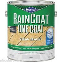4 Gal Clear Wolman Raincoat Oil-based Water Repellent Deck Wood Sealer 12386