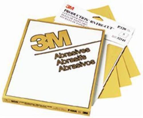 3M FreCut Gold 216u 9 x 11 Sheets 500 grit Package//10 #02538