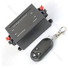 DC 12V Wireless Remote LED Light Dimmer Brightness Controller Switch Lamp