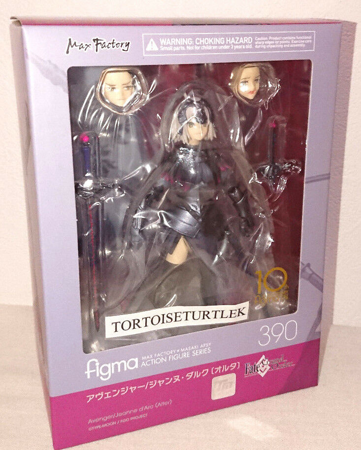 Figma Fate Grand Order Avenger Jeanne d'Arc Alter Action Figure