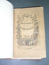 Chasse Le vieux chasseur ou traité de la chasse au fusil Deyeux 1844 gravures