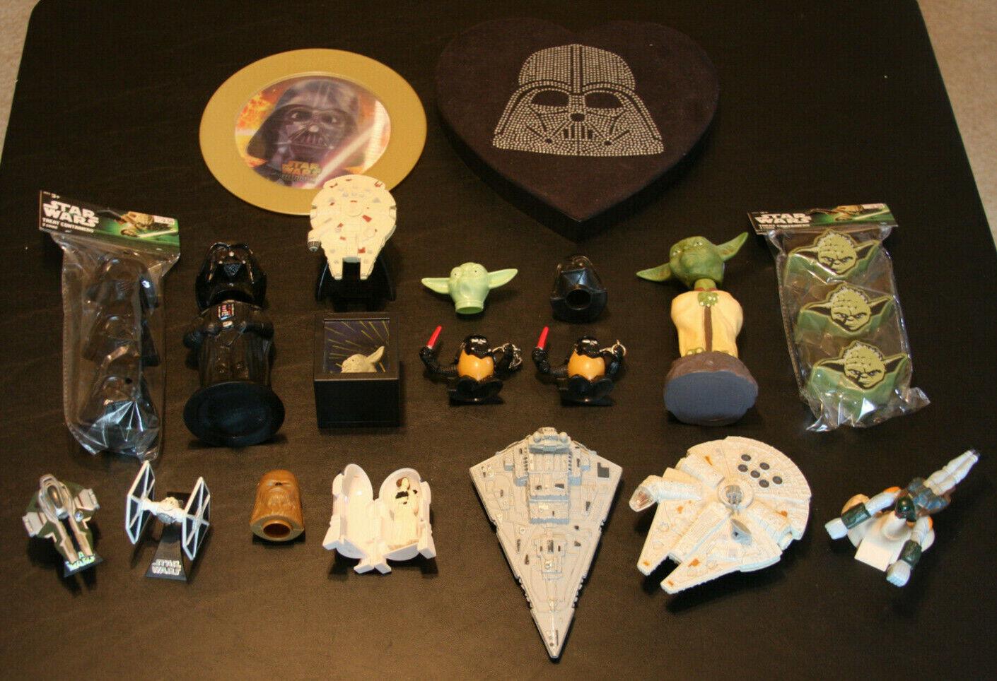 Las colecciones de Estrella Wars    rollizos, miniatura, patatas. 297