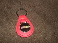 1960/'s OLDSMOBILE 442 4-4-2 1964 1965 1966 1967 1968 LEATHER KEYCHAIN NEW TEAL