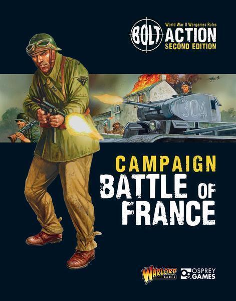 Campaña    Battle Of Francia - Warlords Games - Tornillo Acción - WW2 - Now  tienda en linea