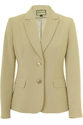 Busy Beige Ladies Suit Jacket