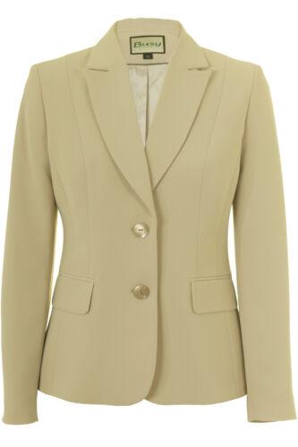Ladies Busy Ladies Busy Jacket Beige Jacket Suit Suit Beige 5q34RLAj