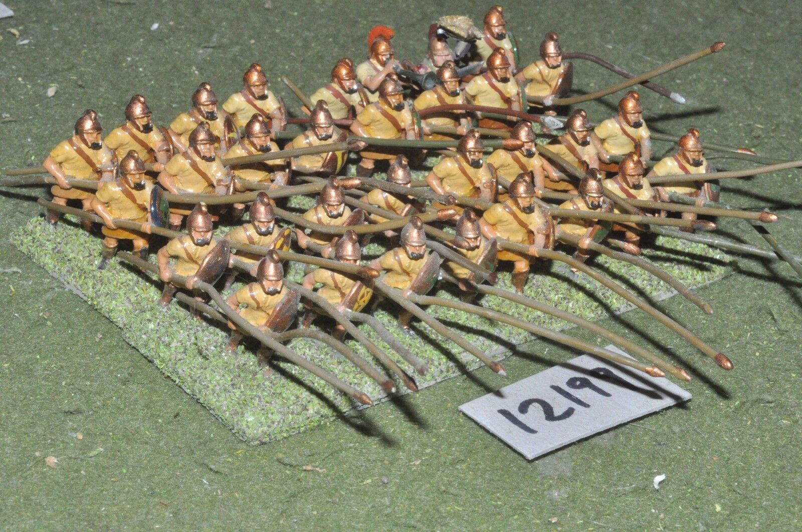 25mm classical   macedonian - pikemen 32 figs - inf (12199)