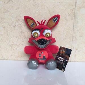 Hot-Five-Nights-At-Freddy-039-s-NIGHTMARE-FOXY-8-034-Plush-Stuffed-FNAF-Kids-Gift