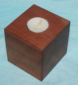 Candle-Holder-Candelabra-Tea-Light-Tasmanian-Myrtle-Timber-Wood-Handcrafted