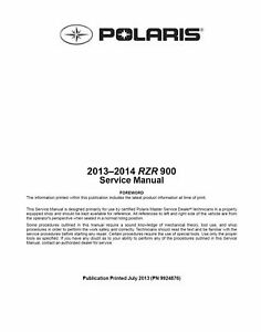 2013 2014 polaris rzr xp 900 xp 4 900 jagged x eps utv service rh ebay ca 2013 rzr xp 4 900 service manual 2013 rzr xp 900 service manual pdf