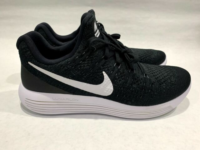 Comité El camarero Patológico  Womens Nike Lunarepic Low Flyknit 843765-005 Black/white Size 12 for sale  online | eBay