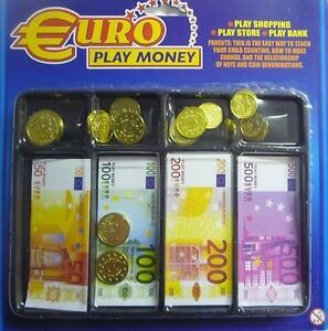 Fake paper money for kids
