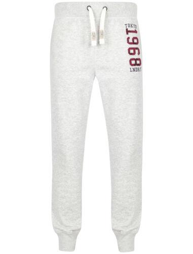 POLO da Uomo Tokyo Laundry Misto Cotone con Logo Bayfield Pantaloni Sportivi Con Risvolto Taglia S-XXL