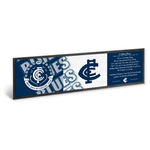 CARLTON-BLUES-C-F-C-AFL-Bar-Runner-Mat-Man-Cave-Christmas-Fathers-Birthday-Gift