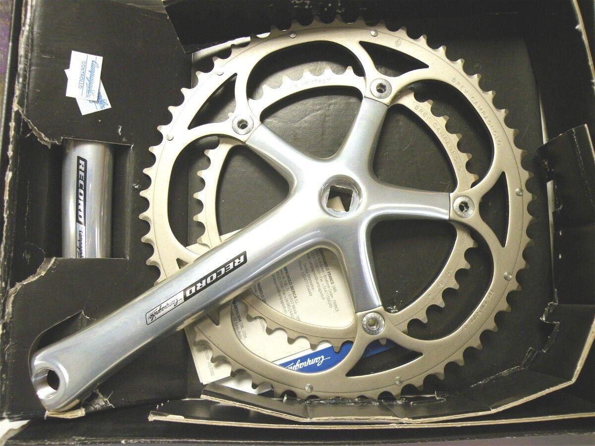 Campagnolo RECORD 10 sp. 172.5 aluminum 2005 crankset 39-53