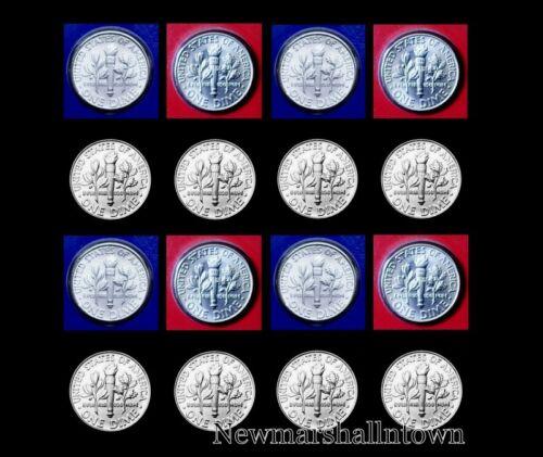 2010 2011 2012 2013 P+D Roosevelt Set ~ From Mint Set /& Bank Rolls ~ No S Proof