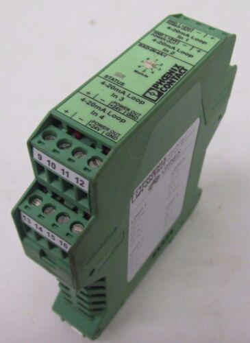 Phoenix Contact ASSY-2249-10 4 Channel 4-20mA Input Module 43042DN