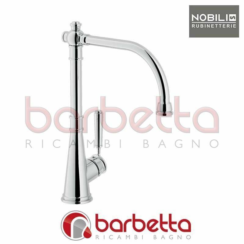 MISCELATORE LAVELLO CUCINA CANNA GIREVOLE CHARLIE RAMATO NOBILI CH75513RA
