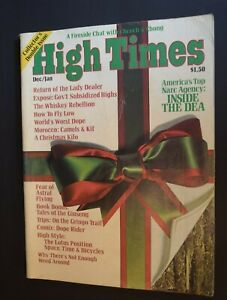 MB-128 High Times Magazine Dec Jan 1976 Issue Inside the DEA, Lady Dealer, More