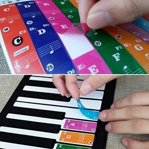 Color-Piano-Stickers-for-49-61-76-88-Key-Keyboards-Transparent-and-Removable