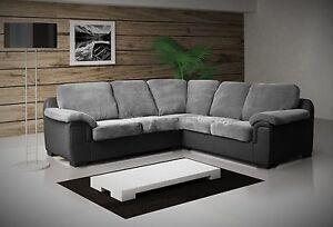 Image Is Loading New Luxury Amy Jumbo Cord Fabric Corner Sofa
